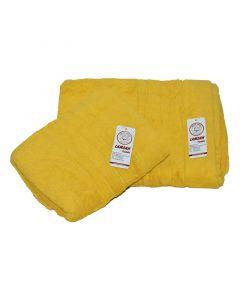 Two-piece towel set - yellow
