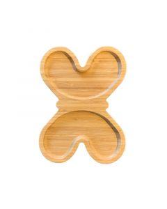 حاملة خشبية متوسطة على شكل فراشة من جينجيالي