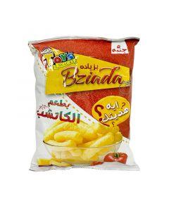 بطاطا شيبس بطعم الكاتشب مع هدية بزياده - 30 ج