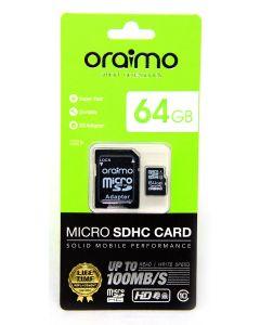 بطاقة ذاكرة أورايمو - 64 جيجابايت