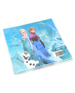Birthday Napkins With Frozen Drawing