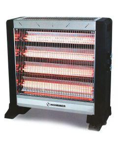 دفاية كهربائية بـ 5 شمعات حرارية من هومر - 2750 وات