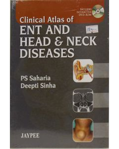 Clinical Atlas ENT and Heat & Neck Dease with DVD-ROM