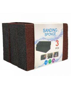 ليفة ساندينق سبونج متعددة الاستخدام - 3 قطع