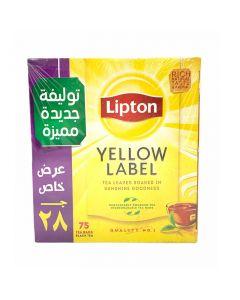 شاي احمر ليبتون  - 75 كيس
