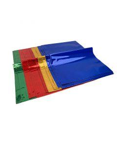 غلاف جاهز للكراسات ألوان لامعه - 8 قطع