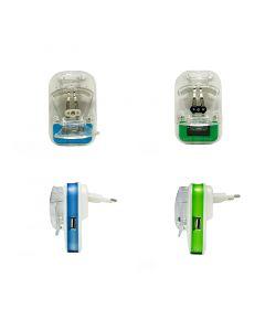شاحن البطارية يونيفيرسال ال سي دي لكافة انواع الهواتف المحمولة