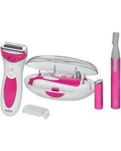 مجموعة الجمال 3في1 متعددة الإستخدامات لإزالة الشعرالجسم + لإزالة شعر الوجه+العناية بالاظافر -AGE