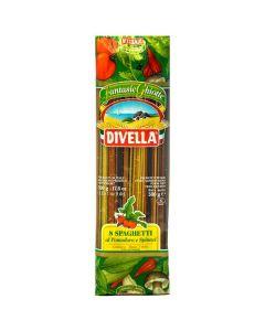 مكرونة سباجيتى بصلصة الطماطم والسبانخ ديفيلا- 500 ج
