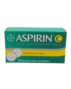 أسبيرين سي أقراص فوارة - 10 أقراص