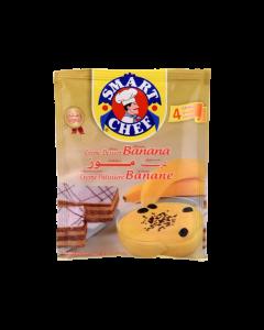كريمة بنكهة الموز سمارت شيف - 40 ج