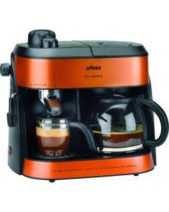 ماكينة قهوة اسبريسو 2 في 1 من اوفيسا
