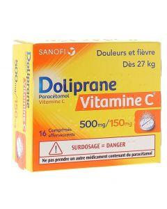 دوليبران فيتامين سي 500 مللي جرام - 16 قرص