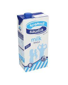 حليب كامل الدسم السعودية - 1 ل