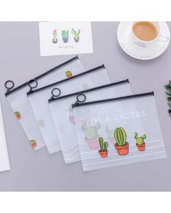Plastic Envelopes to save papers (Aloe Vera)