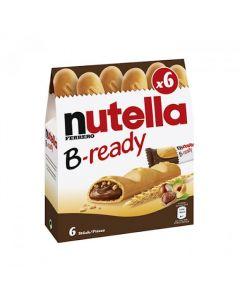 شوكولاتة ويفر البندق بي ريدي نوتيلا 132 ج - 6 قطع