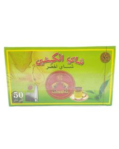 شاي الكبشين اخضر اكياس - 50 كيس