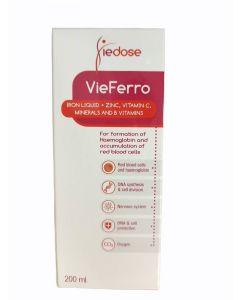 شراب فييرو لعلاج فقر الدم لدى الأطفال - 200 مل