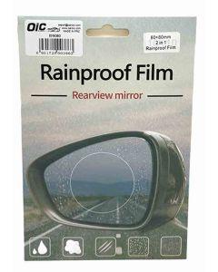 مانع مطر لاصق لمراية السيارة 80 ×80 مم